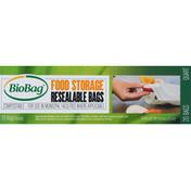 BioBag Resealable Bags, Food Storage