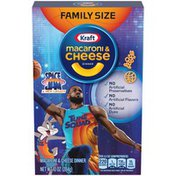Kraft Macaroni & Cheese Dinner with Space Jam Pasta Shapes Family Size