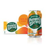 Poland spring Sparkling Water, Orange Mango