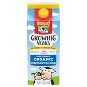 Horizon Organic Growing Years 2% Milk with DHA Omega-3