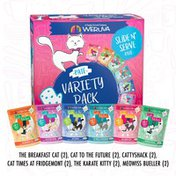 Weruva Cats in the Kitchen The Brat Pack Variety Pack Cat Food Pouches