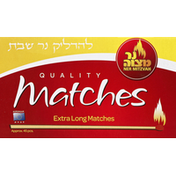Ner Mitzvah Matches, Quality, Extra Long