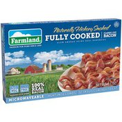 Farmland Naturally Hickory Smoked Fully Cooked Classic Cut Bacon