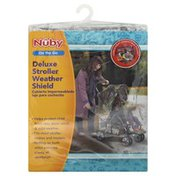 Nuby Stroller Weather Shield, Deluxe, On the Go