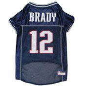 Pets First Large New England Patriots Tom Brady Pet Jersey