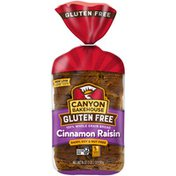 Canyon Bakehouse Gluten Free Cinnamon Raisin 100% Whole Grain Bread
