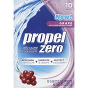 Propel Water Beverage Mix, Grape