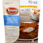 Tyson Chicken Breast Strips, Lightly Breaded
