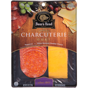 Boar's Head Charcuterie, Duet, Pepperoni & Yellow Vermont Cheddar Cheese
