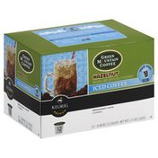 Green Mountain K-Cups, Coffee, Iced, Hazelnut, Medium Roast