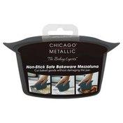Chicago Metallic Mezzaluna, Non-Stick Safe Bakeware, Card