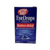 Western Family Eye Drops Redness Relief