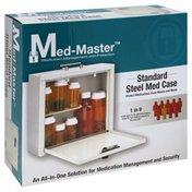 Med Master Med Case, Steel, Standard
