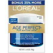 Age Perfect Night Cream for Mature Skin Moisturizer