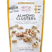 Creative Snacks Co. Almond Clusters, Baked with Cashews, Pumpkin Seeds, & Sunflower Seeds