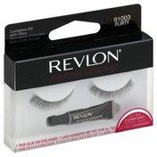 Revlon Glue On Eyelashes, Maximum Wear, Flirty 91003