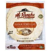 Mi Rancho Tortillas, Flour, Burrito Size