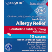 CareOne Allergy Relief Loratadine Tablets