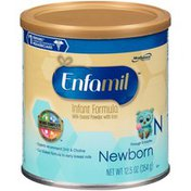 Enfamil Newborn Newborn Milk-Based with Iron Through 3 Months Infant Formula Powder