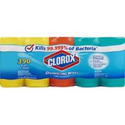 Clorox Disinfecting Wipes, 5 Pack