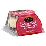 Pamela's Cheesecake, White Chocolate Raspberry