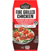Cooked Perfect Bourbon BBQ Recipe Fire Grilled Chicken