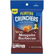 Planters Crunchers Mesquite Barbecue Crispy Coated Peanuts