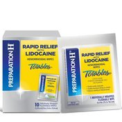 Preparation H Rapid Relief Lidocaine Hemmorrhoid Wipes, Rapid Relief Lidocaine Hemmorrhoid Wipes