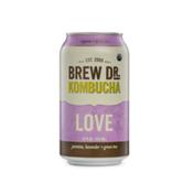 Brew Dr. Kombucha Love Jasmine, Lavender + Green Tea Kombucha