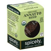 Spicely Annatto Seed, Organic