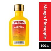 SVEDKA Mango Pineapple Flavored Vodka Plastic Bottle