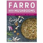 Pereg Natural Foods Farro with Mushrooms, Non-GMO, Vegan, Kosher