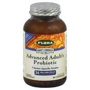 Flora Probiotic, Advanced Adult's, Vegetarian Capsules