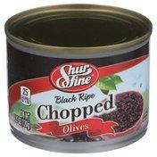 Shurfine Black Ripe Chopped Olives