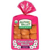 Alpine Valley Organic Hawaiian Soft & Sweet Rolls