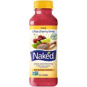 Naked Chia Cherry Lime Chia & Juice Smoothie