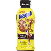Nestle Nesquik Milk, Reduced Fat, Chocolate