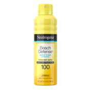 Neutrogena® Beach Defense Spray Sunscreen Broad Spectrum SPF 100