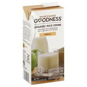 Wholesome Goodness Rice Drink, Organic, Vanilla