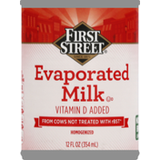 First Street Evaporated Milk