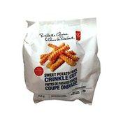 President's Choice Crinkle Sweet Potato Fries