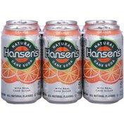 Hansen's Natural Cane Orange Soda