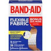 Band-Aid Brand Flexible Fabric Bonus 30% More 30 AOS + 9 Bonus Posted 3/25/2013 Bonus Packs