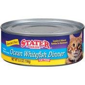 Stater Bros. Markets Ocean Whitefish Dinner Cat Food
