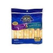 Crystal Farms Variety String Cheese Sticks