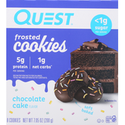 Quest Cookies, Frosted, Chocolate Cake Flavor