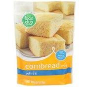 Food Club Cornbread Mix, White