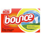 Bounce Professional Bounce Outdoor Fresh Fabric Softener Dryer Sheets