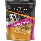 Purina Pro Plan Savor Real Chicken, Cranberries & Oats Baked Trios Dog Snacks