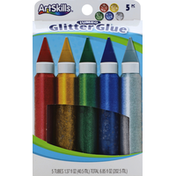 ArtSkills Glitter Glue, Jumbo, 5 Piece